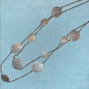 Jewelry - Silver Double Strand Necklace